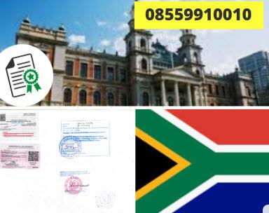 Jasa Legalisir KEMENLU di Afrika Selatan || 08559910010
