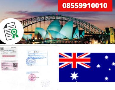 Jasa Legalisir Kementrian Luar Negeri (KEMENLU) di Australia || 08559910010
