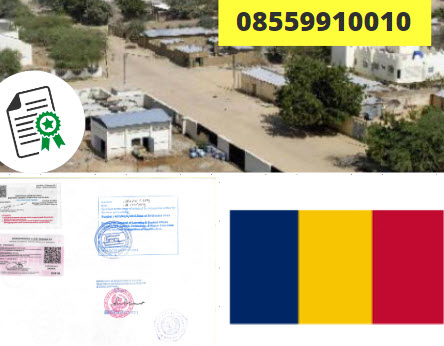 Jasa Legalisir Kementrian Luar Negeri (KEMENLU) di Chad || 08559910010