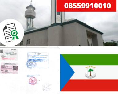 Jasa Legalisir Kementrian Luar Negeri (KEMENLU) di Guinea Khatulistiwa || 08559910010