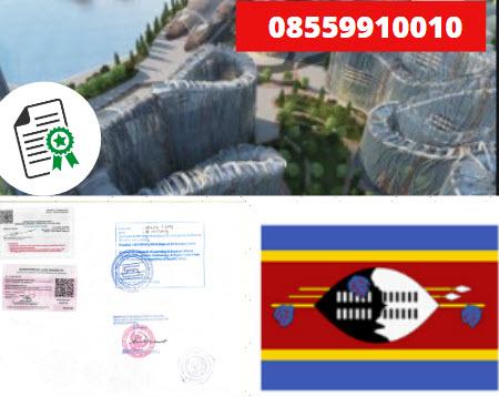 Jasa Legalisir Kementrian Luar Negeri (KEMENLU) di Swaziland || 08559910010