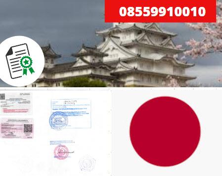 Jasa Legalisir Kementrian Luar Negeri (KEMENLU) di Jepang || 08559910010