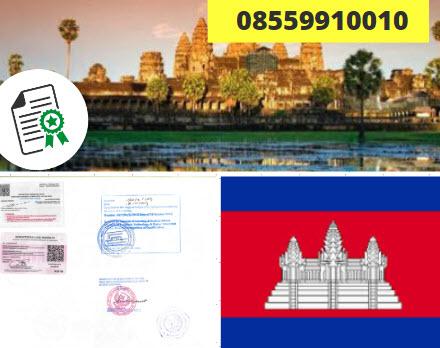 Jasa Legalisir Kementrian Luar Negeri (KEMENLU) di Kamboja || 08559910010