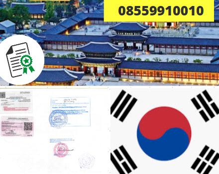 Jasa Legalisir Kementrian Luar Negeri (KEMENLU) di Korea Selatan