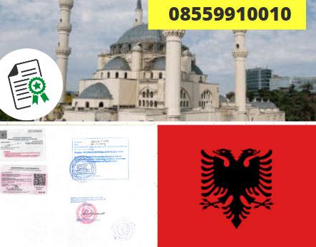 Jasa Legalisir Kementrian Luar Negeri (KEMENLU) di Albania || 08559910010