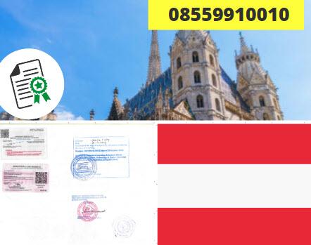 Jasa Legalisir Kementrian Luar Negeri (KEMENLU) di Austria || 08559910010