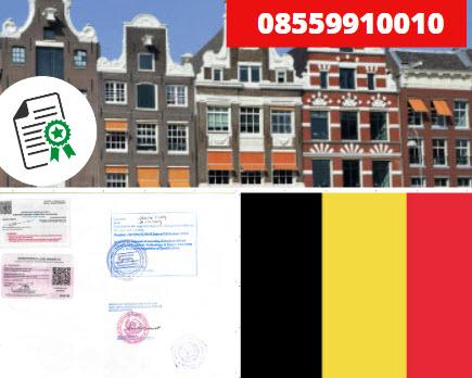 Jasa Legalisir Kementrian Luar Negeri (KEMENLU) di Belgia || 08559910010