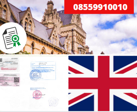 Jasa Legalisir Kementrian Luar Negeri (KEMENLU) di Britania Raya || 08559910010