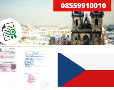 Jasa Legalisir Kementrian Luar Negeri (KEMENLU) di Ceko || 08559910010