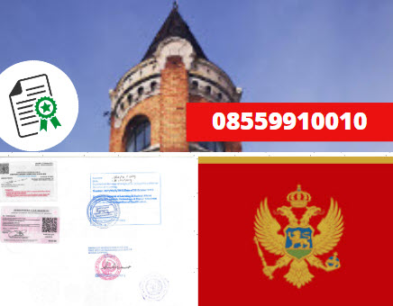 Jasa Legalisir Kementrian Luar Negeri (KEMENLU) di Montenegro || 08559910010