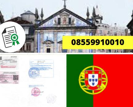 Jasa Legalisir Kementrian Luar Negeri (KEMENLU) di Portugal || 08559910010