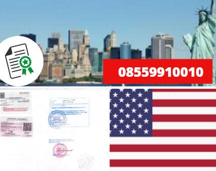 Jasa Legalisir Kementrian Luar Negeri (KEMENLU) di Amerika Serikat || 08559910010