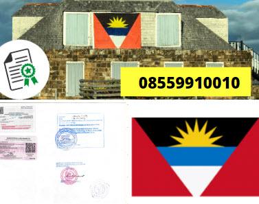 Jasa Legalisir Kementrian Luar Negeri (KEMENLU) di Antigua dan Barbuda || 08559910010
