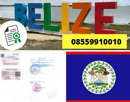 Jasa Legalisir Kementrian Luar Negeri (KEMENLU) di Belize || 08559910010