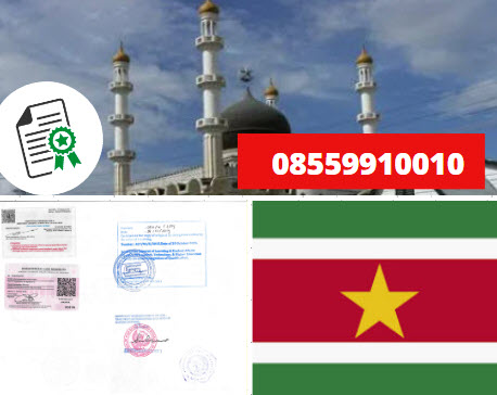 Jasa Legalisir Kementrian Luar Negeri (KEMENLU) di Suriname || 08559910010