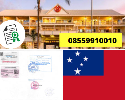 Jasa Legalisir Kementrian Luar Negeri (KEMENLU) di Samoa || 08559910010