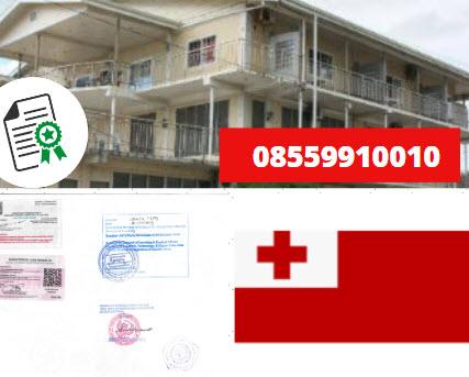 Jasa Legalisir Kementrian Luar Negeri (KEMENLU) di Tonga || 08559910010