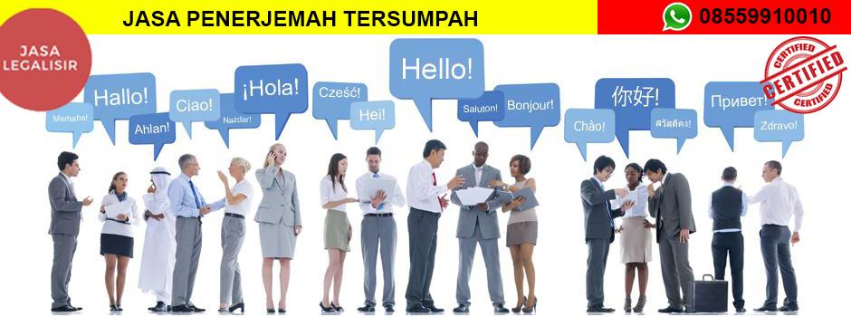 Jasa Penerjemah Tersumpah Di Kabupaten Batu Bara 08559910010