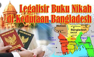 Jasa Legalisir Buku Nikah Di Kedutaan Bangladesh || 08559910010