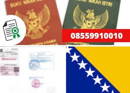 Jasa Legalisir Buku Nikah Di Kedutaan Bosnia dan Herzegovina    08559910010
