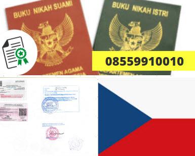 Jasa Legalisir Buku Nikah Di Kedutaan Ceko || 08559910010