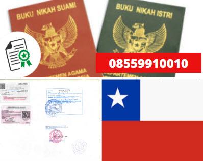 Jasa Legalisir Buku Nikah Di Kedutaan Chili || 08559910010