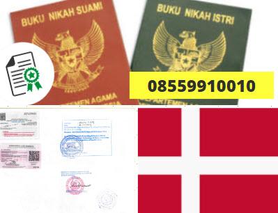 Jasa Legalisir Buku Nikah Di Kedutaan Denmark || 08559910010