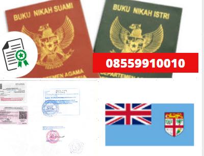 Jasa Legalisir Buku Nikah Di Kedutaan Fiji || 08559910010