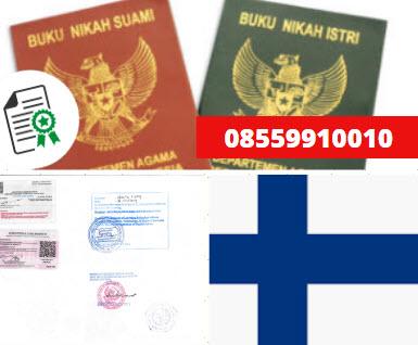 Jasa Legalisir Buku Nikah Di Kedutaan Finlandia || 08559910010