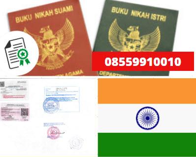 Jasa Legalisir Buku Nikah Di Kedutaan India || 08559910010