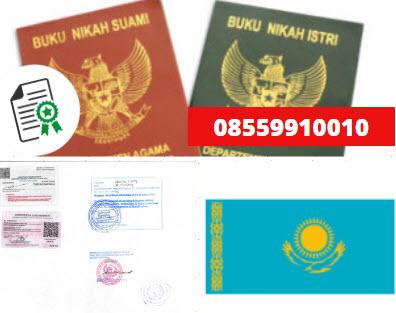 Jasa Legalisir Buku Nikah Di Kedutaan Kazakhstan || 08559910010