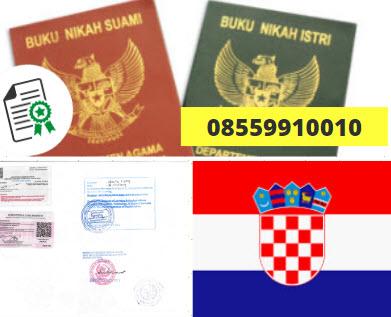 Jasa Legalisir Buku Nikah Di Kedutaan Kroasia || 08559910010