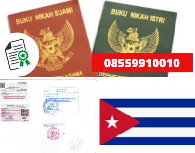 Jasa Legalisir Buku Nikah Di Kedutaan Kuba || 08559910010