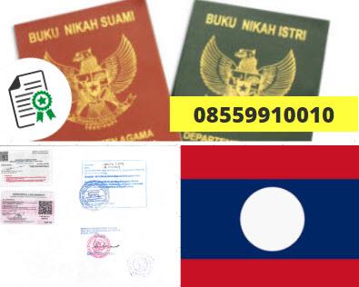 Jasa Legalisir Buku Nikah Di Kedutaan Laos || 08559910010