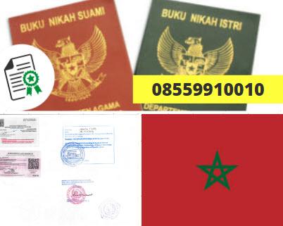 Jasa Legalisir Buku Nikah Di Kedutaan Maroko || 08559910010