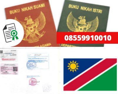Jasa Legalisir Buku Nikah Di Kedutaan Namibia || 08559910010