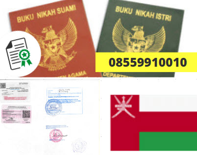 Jasa Legalisir Buku Nikah Di Kedutaan Oman    08559910010