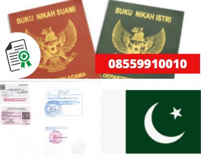 Jasa Legalisir Buku Nikah Di Kedutaan Pakistan || 08559910010