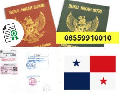 Jasa Legalisir Buku Nikah Di Kedutaan Panama    08559910010