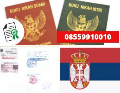 Jasa Legalisir Buku Nikah Di Kedutaan Serbia || 08559910010