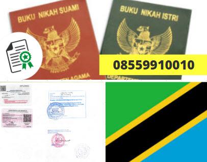Jasa Legalisir Buku Nikah Di Kedutaan Tanzania || 08559910010