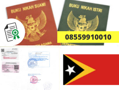 Jasa Legalisir Buku Nikah Di Kedutaan Timor Leste || 08559910010