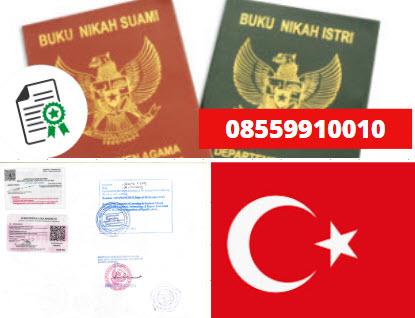 Jasa Legalisir Buku Nikah Di Kedutaan Turki || 08559910010
