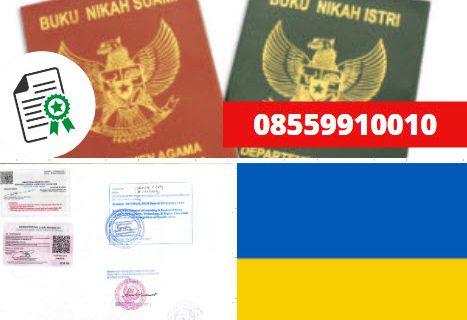 Jasa Legalisir Buku Nikah Di Kedutaan Ukraina || 08559910010