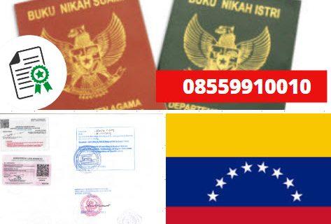 Jasa Legalisir Buku Nikah Di Kedutaan Venezuela || 08559910010