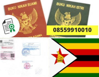Jasa Legalisir Buku Nikah Di Kedutaan Zimbabwe || 08559910010