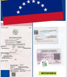 Jasa Legalisir Akta Pernikahan Di Kedutaan Venezuela || 08559910010