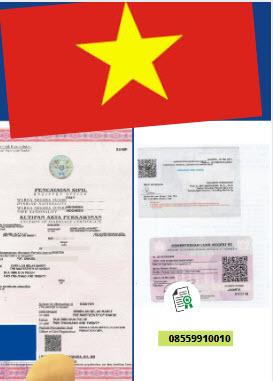 Jasa Legalisir Akta Pernikahan Di Kedutaan Vietnam || 08559910010