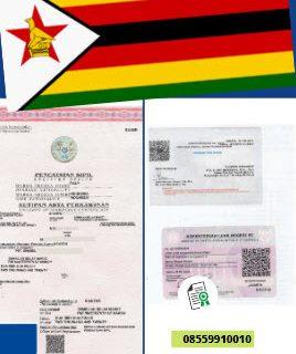 Jasa Legalisir Akta Pernikahan Di Kedutaan Zimbabwe || 08559910010
