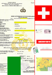 Jasa Legalisir SKCK Di Kedutaan Swiss    08559910010